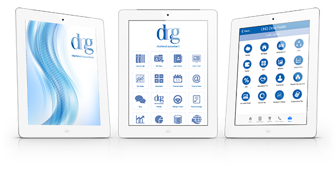 Install the DNG Chartered Accountants App today
